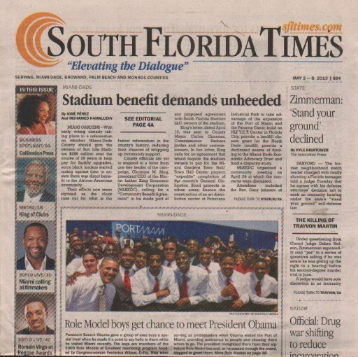 Media Scan for South Florida Times