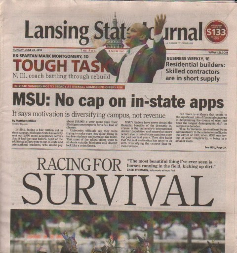 Media Scan for Lansing State Journal