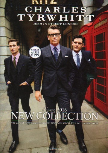 Media Scan for Charles Tyrwhitt