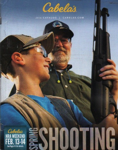 Media Scan for Cabela's Outfitter Journal