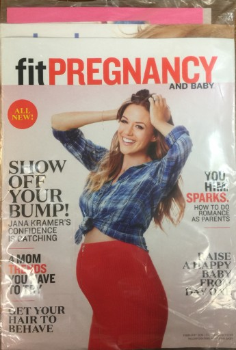 Media Scan for Fit Pregnancy & Baby Polybag Onserts