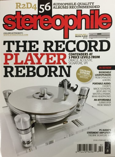 Media Scan for Stereophile