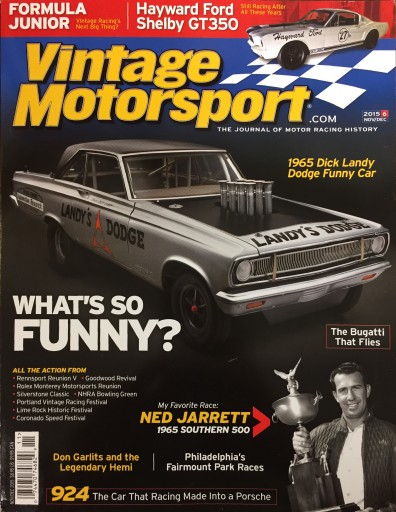 Media Scan for Vintage Motorsport