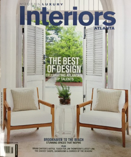 Media Scan for Modern Luxury Interiors Atlanta
