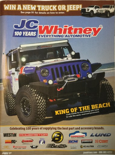 Media Scan for Whitney Automotive Group Catalog Blow-ins