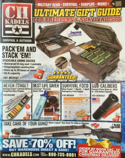 Media Scan for CH Kadels Blow-In