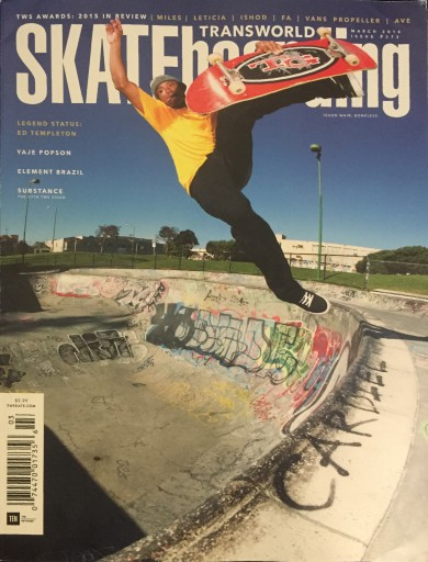 Media Scan for Transworld SKATEboarding