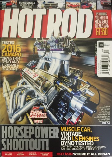 Media Scan for Hot Rod