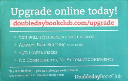 Media Scan for Bookspan Doubleday Book Club RAL