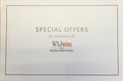 Media Scan for WSJwine Package Insert Program