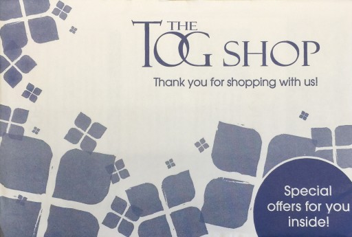 Media Scan for The Tog Shop Package Insert Program