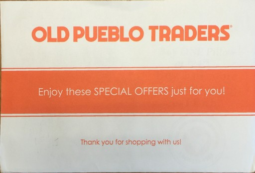 Media Scan for Old Pueblo Traders Package Insert Program