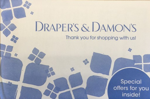 Media Scan for Draper's & Damon's Package Insert Program