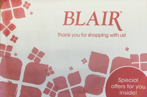 Media Scan for Blair Women's & Home Package Insert Program