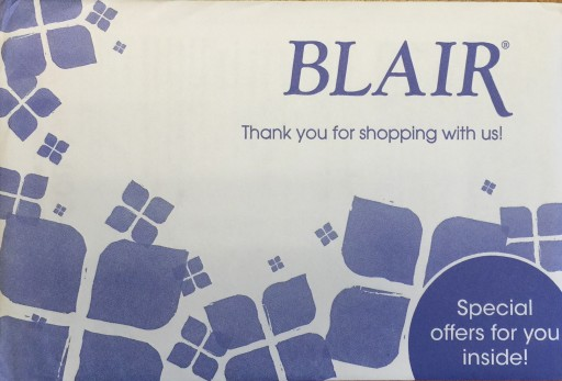 Media Scan for Blair Men's Package Insert Program