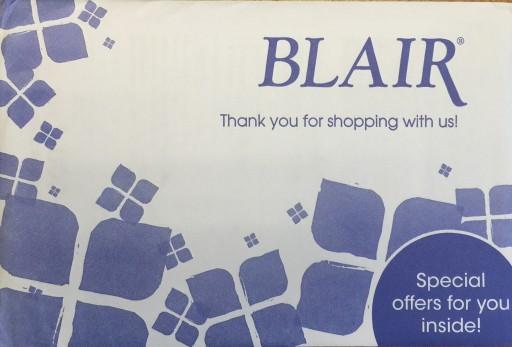 Media Scan for Blair Men's Package Insert Program