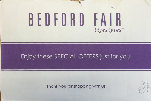 Media Scan for Bedford Fair Package Insert Program