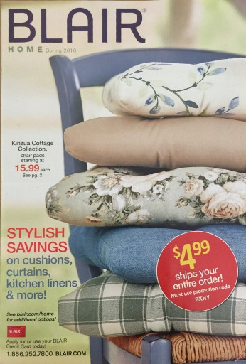 Media Scan for Blair Home Catalog Blow-in