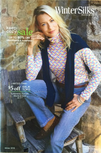 Media Scan for WinterSilks Catalog Blow-in