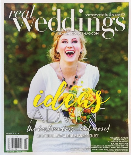 Media Scan for Real Weddings Sacramento