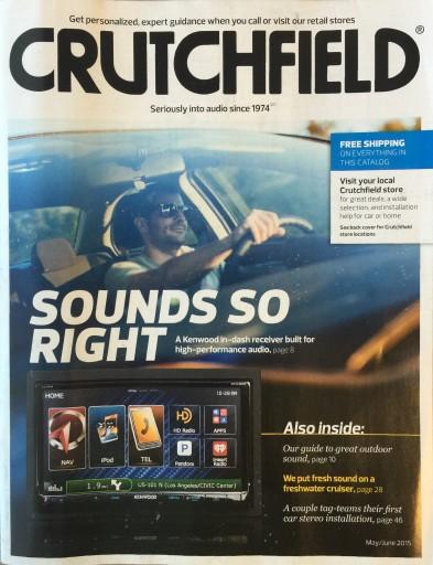 Media Scan for Crutchfield Invoice Program