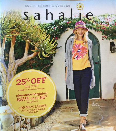 Media Scan for Sahalie Catalog Blow-in