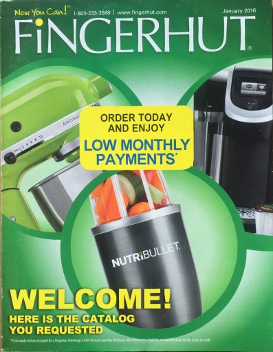 Media Scan for Fingerhut Blow-In Program