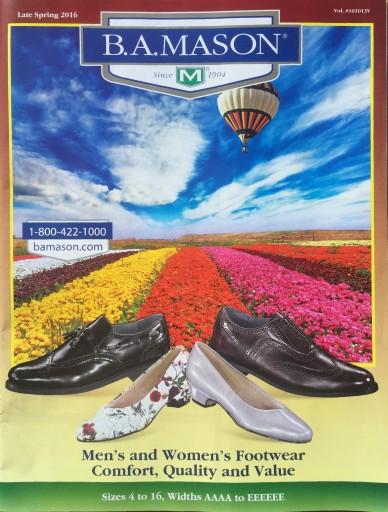 Media Scan for Mason Shoe Company Catalog Statement Insert Progra