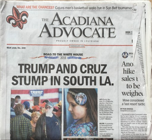 Media Scan for Acadiana Advocate