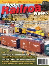 Media Scan for Model Railroad News