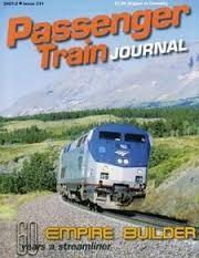 Media Scan for Passenger Train Journal