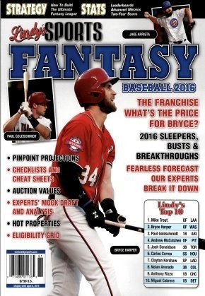 Media Scan for Lindy's Sports Fantasy Baseball