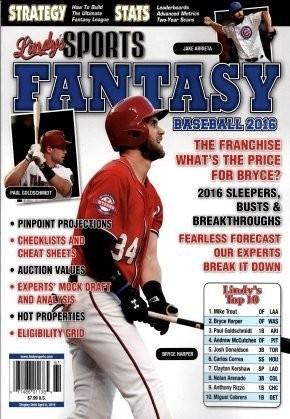 Media Scan for Lindy's Sports Fantasy Baseball