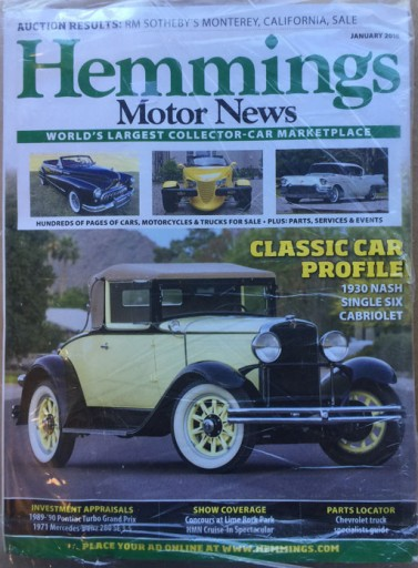 Media Scan for Hemmings Motor News