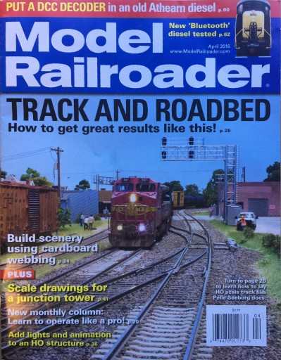 Media Scan for Model Railroader