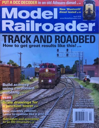 Media Scan for Model Railroader