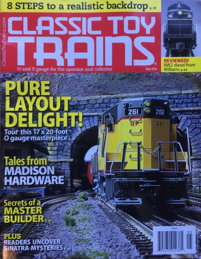 Media Scan for Classic Toy Trains