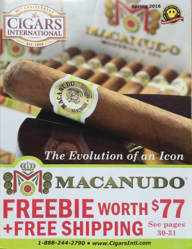 Media Scan for Cigars International Catalog Inserts