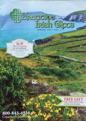 Media Scan for Creative Irish Gifts Package Insert Program (PIP)