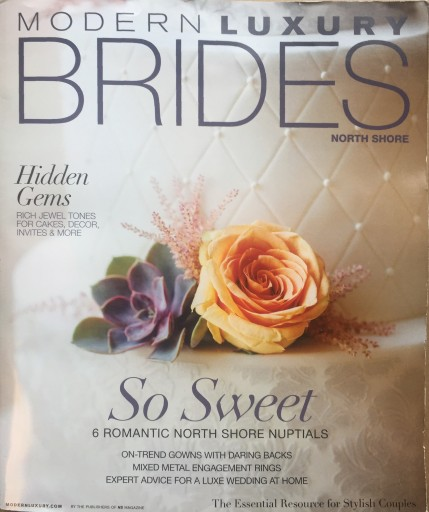 Media Scan for Modern Luxury Brides North Shore
