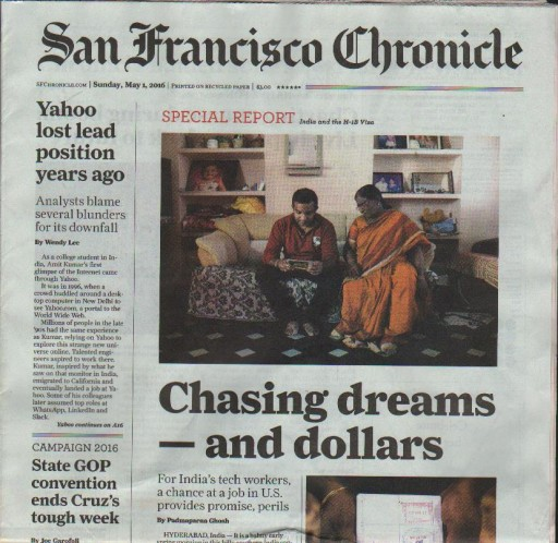 Media Scan for San Francisco Chronicle