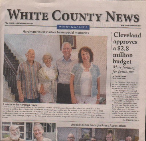 Media Scan for Cleveland White County News