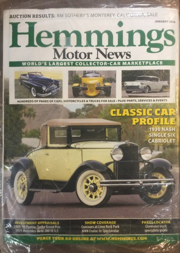 Media Scan for Hemmings Motor News Polybag Program