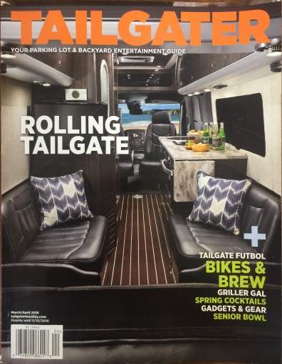 Media Scan for Tailgater Monthly Magazine
