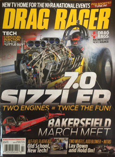 Media Scan for Drag Racer