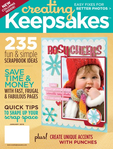 Media Scan for Creating Keepsakes