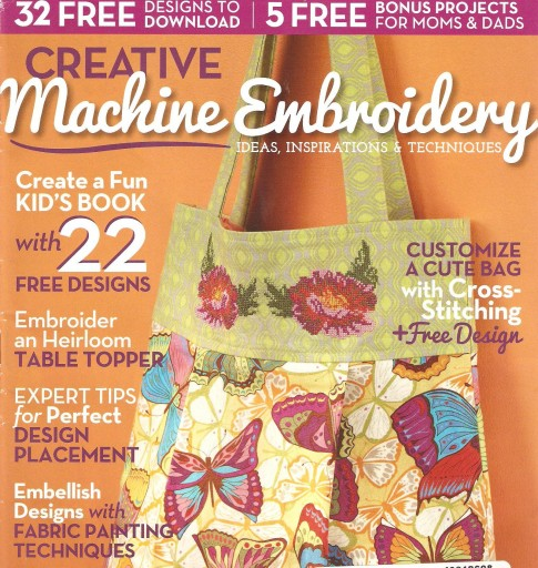 Media Scan for Creative Machine Embroidery