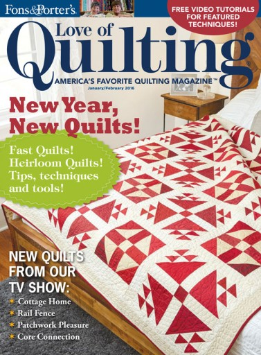 Media Scan for Fons & Porter's Love of Quilting