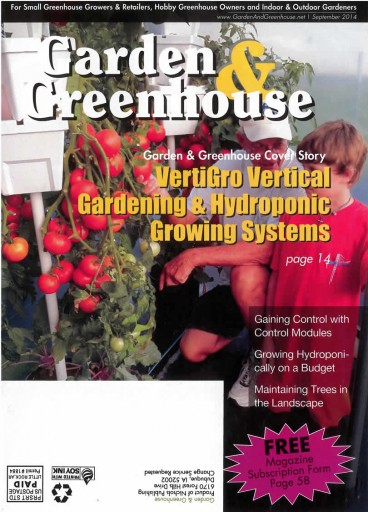 Media Scan for Garden & Greenhouse