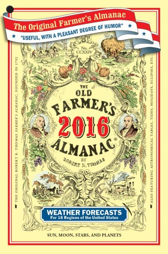Media Scan for Harris' Farmer's Almanac
